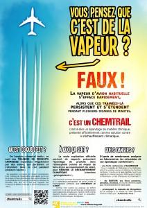 Affiche - Chemtrails