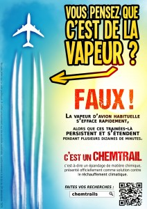 Flyer Chemtrail Couleur - Recto