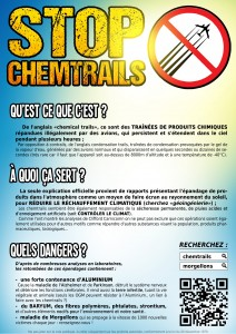 Flyer Chemtrail Couleur - Verso